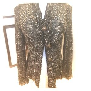 BCBG sweater jacket